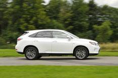 2012 Lexus RX450h F Sport review