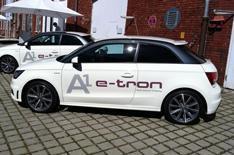 Audi A1 hybrid prototype review