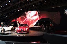 Alfa Romeo sculpture