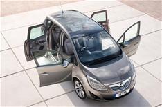 New Vauxhall Meriva revealed