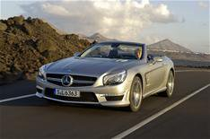New Mercedes SL63 AMG revealed