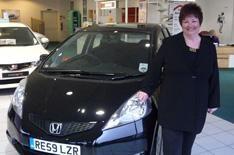 Honda Jazz: winner collects car
