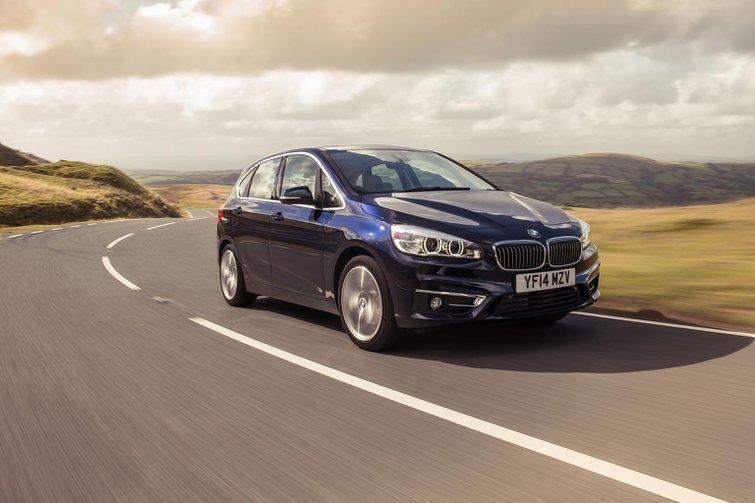 2014 BMW 218i SE Active Tourer review