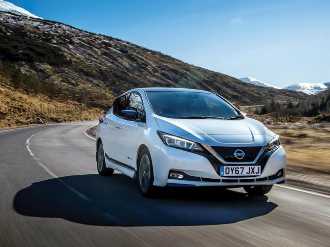 Promoted: The New Nissan LEAF – say hello to our record-breaker