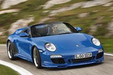 Porsche 911 Speedster driven