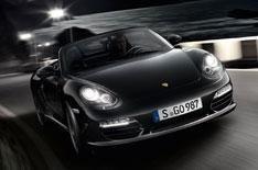 Porsche launches Boxster S Black