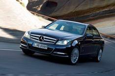 New Mercedes C-Class unveiled