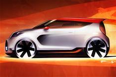 Kia Track'ster concept car unveiled