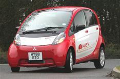 Mitsubishi i-Miev price drops by 10k
