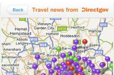 Free live traffic info for iPhone