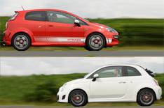 Fiat Punto Evo Abarth/500C Abarth driven