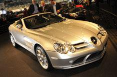 Mercedes' green drive and SLR