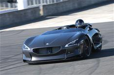 Record-breaking Peugeot EX1 electric car