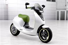 Smart scooter nears green light