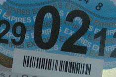 Road tax rates from April 2011
