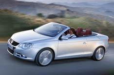 Overtaking in a VW Eos