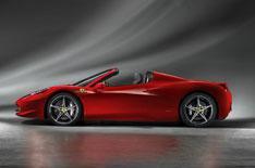 Ferrari 458 Spider unveiled