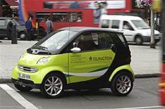 Mercedes' green future