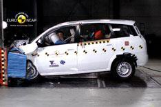 Poor crash test results for Chinese car