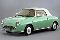 Nissan Figaro and Daihatsu Copen