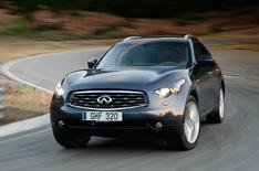 Prices for Infiniti FX announced