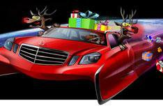 Pimp my sleigh: Santa's new ride