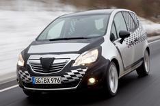 New Vauxhall Meriva driven