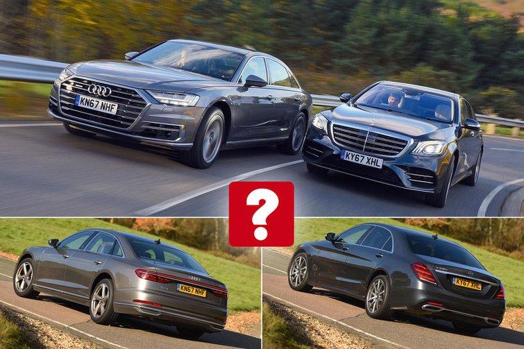 New Audi A8 vs Mercedes S-Class