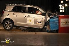 Toyota Urban Cruiser's crash test crash