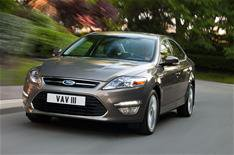 Face-lifted Mondeo revealed