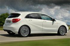 New A-Class: no six-cylinder engines yet