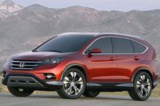 Honda reveals CR-V concept car