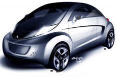 Mitsubishi i MiEV Sport Air concept car