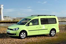 Volkswagen Caddy Maxi Camper revealed