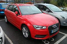 Our cars: Audi A3 Sportback hello