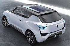 Ssangyong reveals range-extender SUV