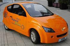 British 'plug-in' hybrid revealed