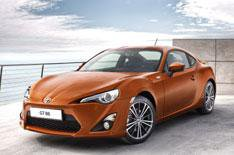 Toyota names coupe GT 86