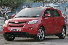Toyota Urban Cruiser: driven