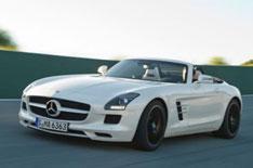 Mercedes SLS AMG Roadster unveiled