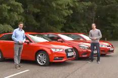 Audi A3 Sportback vs rivals video review