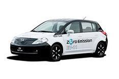 Nissan's electric car takes shape