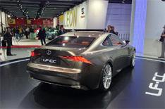 Lexus LF-CC concept car revealed