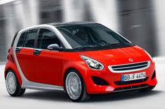 Smart Forfour to be smallest in class