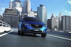 Mazda reveals upmarket ambitions