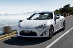 Toyota GT86 convertible preview