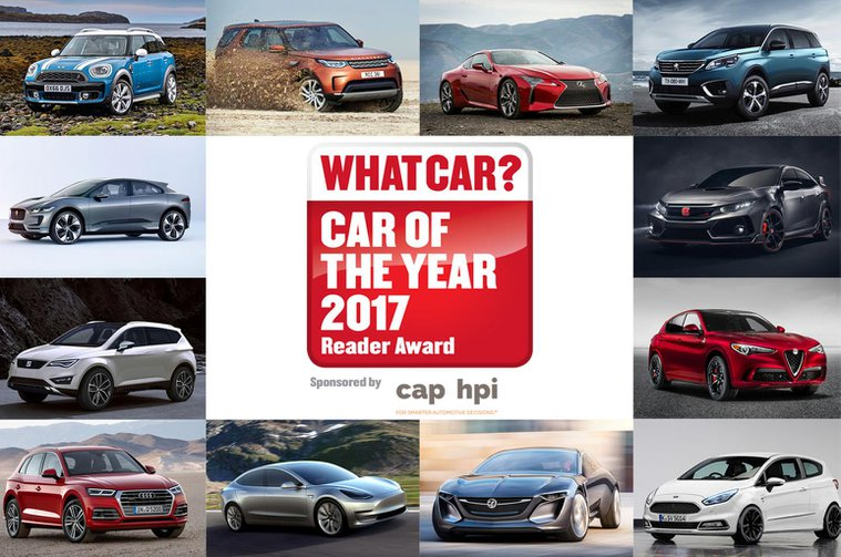 Vote for the most exciting car of 2017 – What Car?