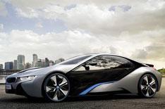 BMW reveals i8 hybrid sportscar