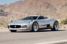 Jaguar C-X75 revealed
