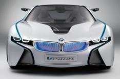 BMW Vision hybrid concept on show